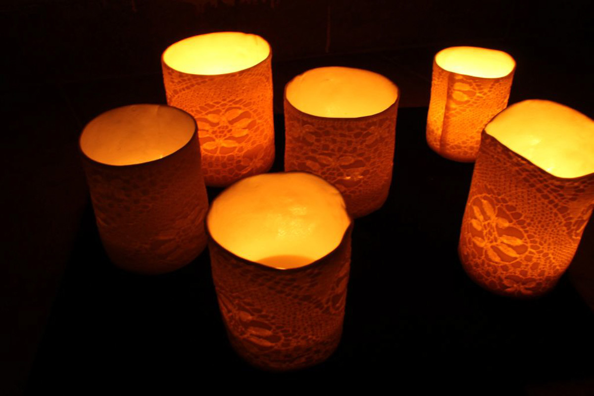 Porcelain Candle Holders